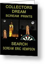 Collectors Dream Greeting Card by Eric Kempson