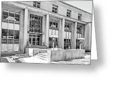College Of Wooster Andrews Library Greeting Card by University Icons