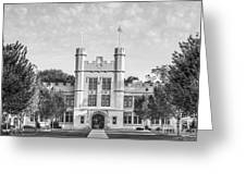 College Of Wooster Kauke Hall Greeting Card by University Icons