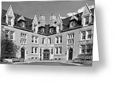 College Of Wooster Kenarden Lodge Greeting Card by University Icons