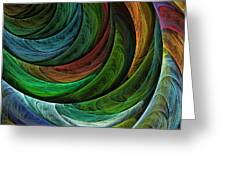 Color Glory Greeting Card by Oni H