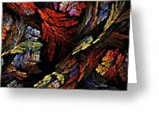 Color Harmony Greeting Card by Oni H