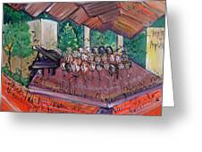 Colorado Childrens Chorale Greeting Card by Laurie Maves Guglielmi
