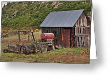 Colorado Ranch Greeting Card by Charles Warren