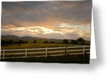 Colorado Rocky Mountain Country Sunset Greeting Card by James BO  Insogna