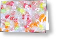 Colorful Candies Greeting Card by Carlos Caetano
