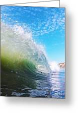 Colorful Curl Greeting Card by Paul Topp