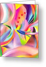 Colorful Sea Greeting Card by Peter Shor