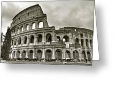 Colosseum  Rome Greeting Card by Joana Kruse