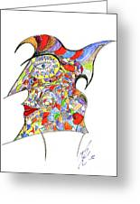 Colour In Mind Greeting Card by Peter Saltz