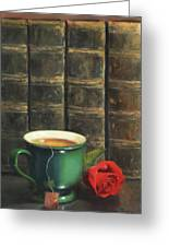 Comforts Of Old Greeting Card by Anna Bain