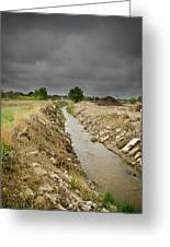 Concrete River 4 Greeting Card by Matthew Angelo