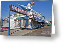 Coney Island Memories 11 Greeting Card by Madeline Ellis