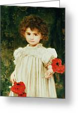 Connie Greeting Card by William Clark Wontner