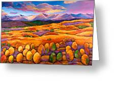 Contentment Greeting Card by Johnathan Harris