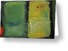 Conversation With Rothko Greeting Card by Tim Nyberg