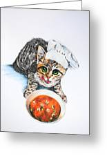 Cookin' Up Trouble Greeting Card by Jai Johnson