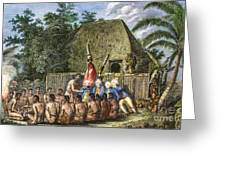 Cook:sandwich Islands 1779 Greeting Card by Granger
