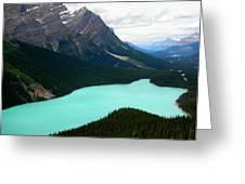 Cool Water Greeting Card by Matt Brennan