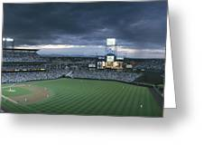 Coors Field, Denver, Colorado Greeting Card by Michael S. Lewis