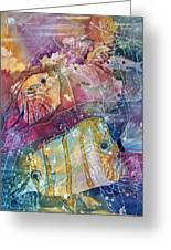 Coral Reef I Greeting Card by Sandy Collier