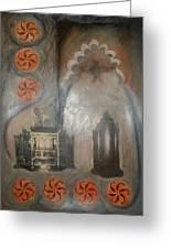 Cordoba Confessions Greeting Card by Barbara Nesin