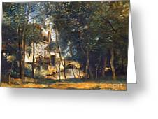 COROT - THE MILL Greeting Card by Granger