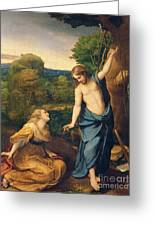 Correggio Greeting Card by Noli Me Tangere