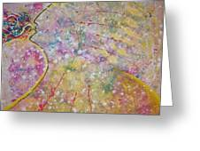 Cosmos Song Greeting Card by Ruth Beckel