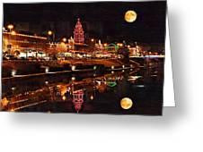 Country Club Plaza Lights Kansas City Missouri Greeting Card by Joseph Ventura