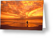 Couples Vacation Greeting Card by Dave Fleetham - Printscapes