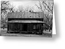 Cracker Cabin Greeting Card by David Lee Thompson