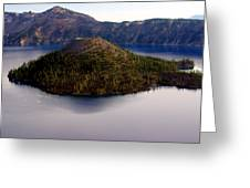 Crater Lake 1 Greeting Card by Marty Koch