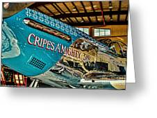 Cripes Almighty Greeting Card by Tommy Anderson