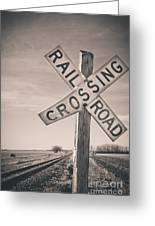 Crossings Greeting Card by Christina Klausen