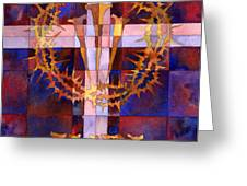 crown of thorns Greeting Card by Mark Jennings