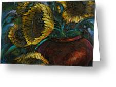 Cut Short Greeting Card by Michael Lang