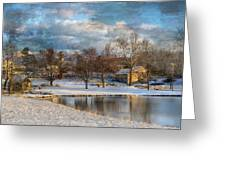Cyrus McCormick Farm Greeting Card by Kathy Jennings