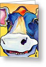 Dairy Queen I   Greeting Card by Pat Saunders-White