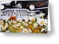 Daisy Desoto Greeting Card by Suzy Pal Powell