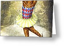 Dancer 3 Greeting Card by Lolita Bronzini