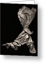 Dancer Two Greeting Card by Peter Cutler