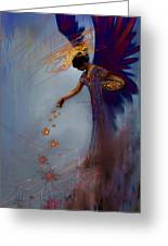Dancing The Lifes Web Star Gifter Does Greeting Card by Stephen Lucas