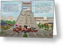 Danziger The Massacre Greeting Card by Beverly Kimble Davis
