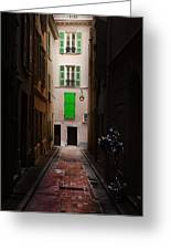 Dark And Light Greeting Card by Cecil Fuselier