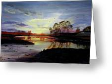 Dawn Greeting Card by Jane Autry