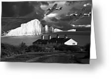 Dawn Patrol Greeting Card by Kris Dutson