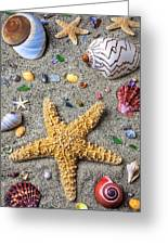 Day At The Beach Greeting Card by Garry Gay