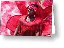 Dc Caribbean Carnival No 18 Greeting Card by Irene Abdou