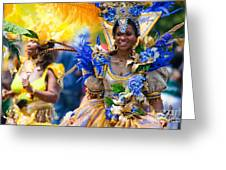 Dc Caribbean Carnival No 19 Greeting Card by Irene Abdou